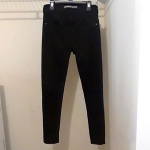 Express Black Skinny Legging Jeans